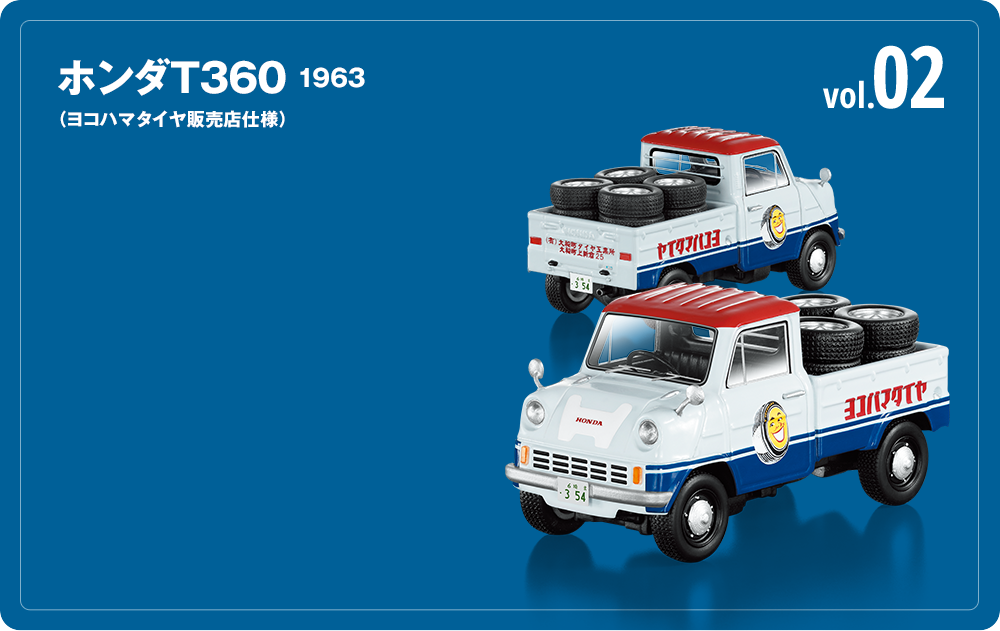 ホンダT360 1963(ヨコハマタイヤ販売店仕様) vol.02